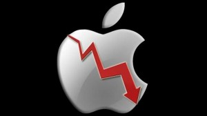 Apple Stocks going down