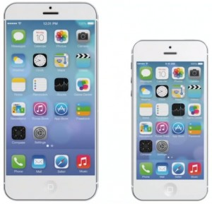 New IPhone 6 Bigger display screen vs older iphone 5 Screen size