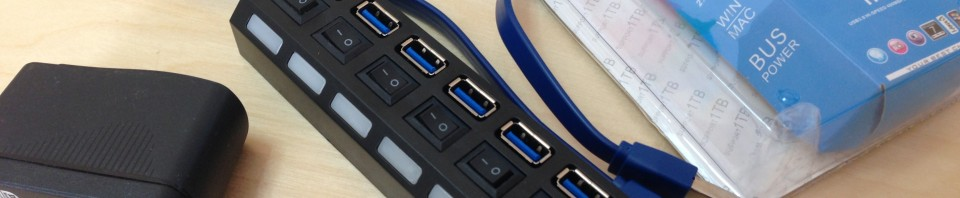 USB 3.0 7-Port HUB