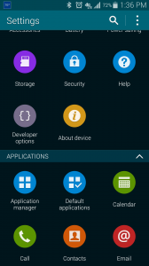 Developer Options in Android phone