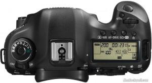 Canon 5D Mark III top