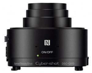 SONY-DSC-QX10 Attachable lens