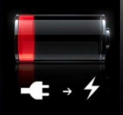 IpIPhone Battery Low indication