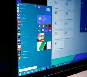 Microsoft Windows 10 Desktop View